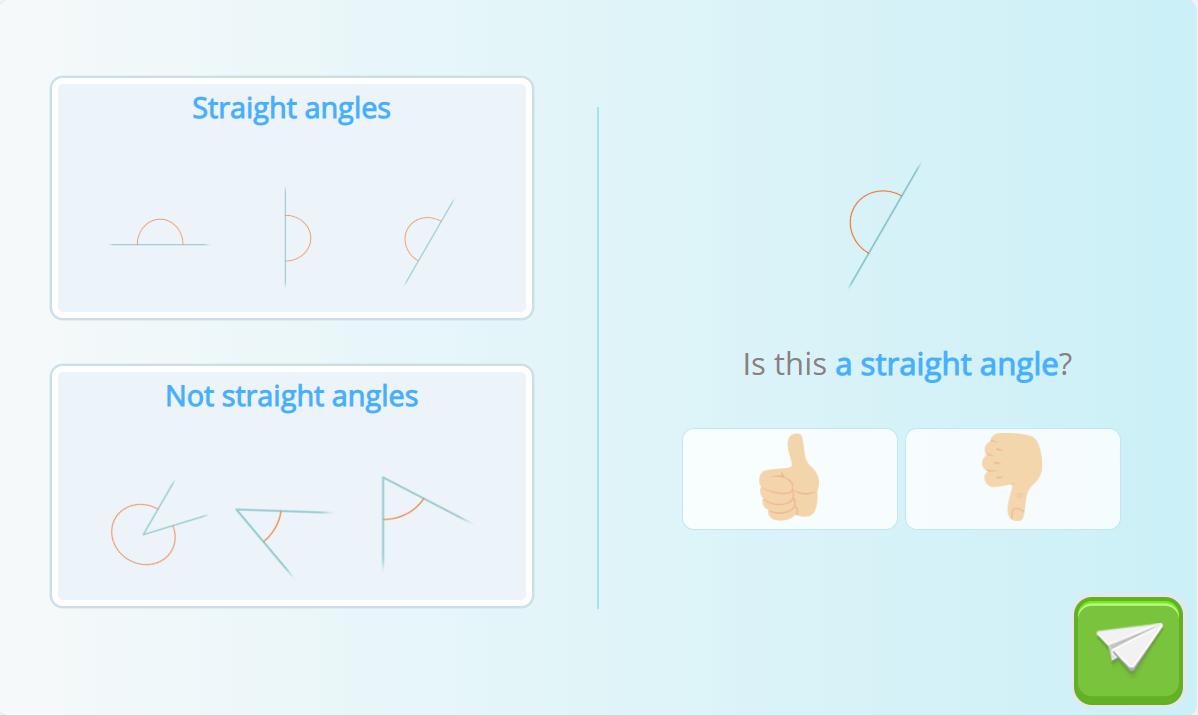 straight angle activity