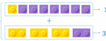 Using Lego Blocks to Help with Addition of Fractions