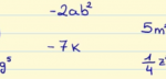 Learn the Properties of Monomials