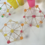 Manipulative Mathematics: How to Construct an Icosahedron with Gummies and Toothpicks