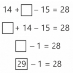 Incomplete Horizontal Addition and Subtraction to Develop Mathematical Flexibility
