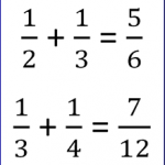 How to Find a Sum of Fractions
