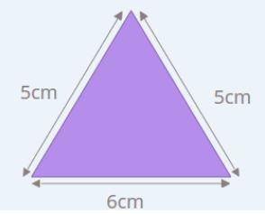 perimeter of isoceles triangle