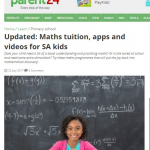 Parent24 Recommends Smartick to Improve the Math Level of Children
