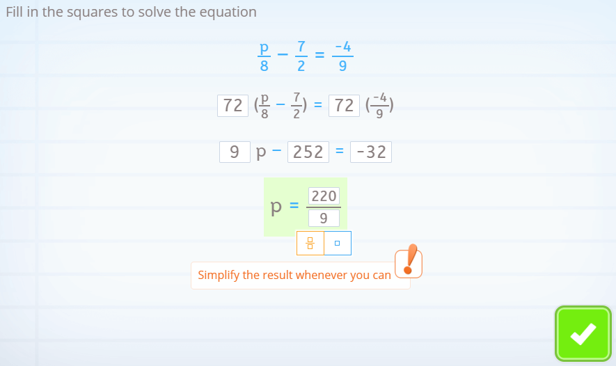 reducible equations