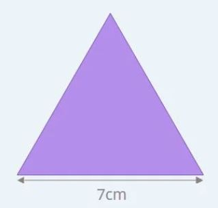 perimeter of an equilateral triangle